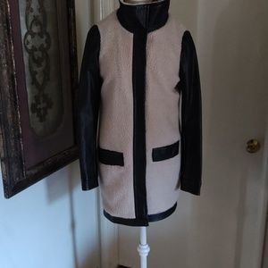 Barney New York cream/Black jacket size XS